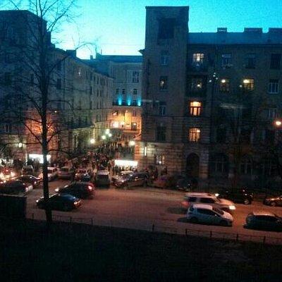 ДК Выборгский после концерта