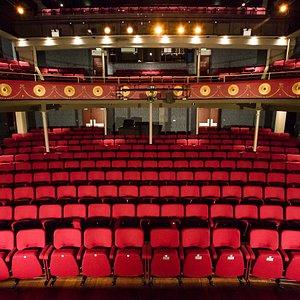 The refurbished auditorium