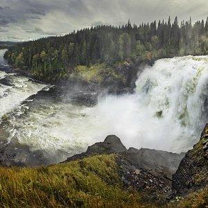 Largest Waterfall in Sweden