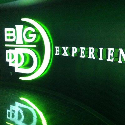 Big D sign