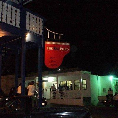 Red Piano Bar St Maarten