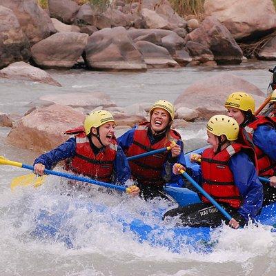Diversión en el Río Mendoza