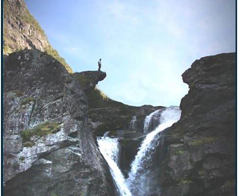 Roykjafossen  (by Hardanger Basecamp Osa)