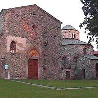 esterno basilica galliano