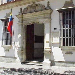 Fachada del Museo Bolívariano