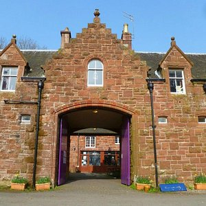THE STABLE BLOCK, NOW THE CENTRE AND CAFE.