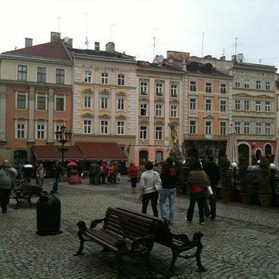 Lviv, Plosha Rynok/Market Square