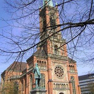 Johanneskirche, Düsseldorf, Alemania.