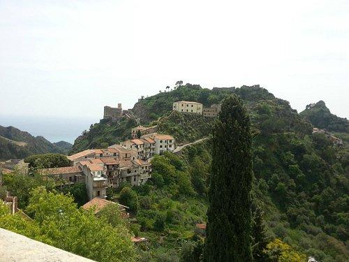 Panorama dalla chiesa dei Cappuccini.