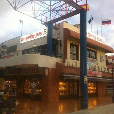 The Sporting Jester cc City Center Playa de las Americas