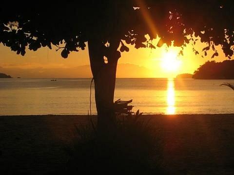 Nascer do sol praia do Jabaquara