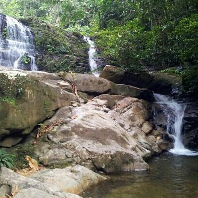 At last..waterfall..:)