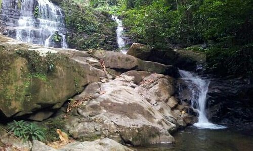 At last..waterfall..:)