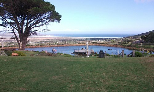 The view from the picnic area
