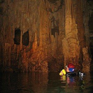 Pont d'en Gil Cavern - 220m of Limestone Formations