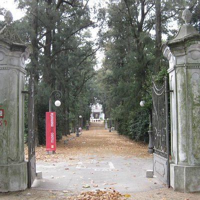 Entrance gate, Museo de la Memoria