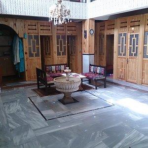 Inside of Şifa Hamamı