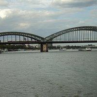 Ponte mais bela de Colônia