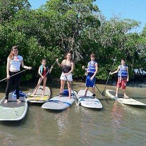Gulfside Paddleboard Family Tour
