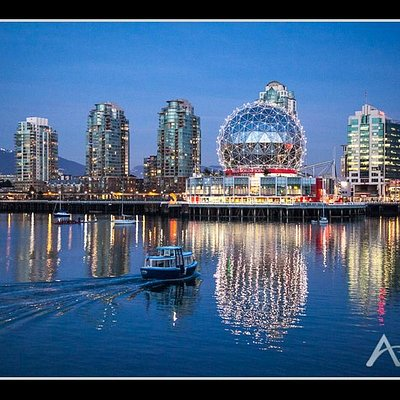 Science world and Aqua bus, Vancouver