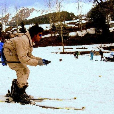 Skiing @ Solan Valley