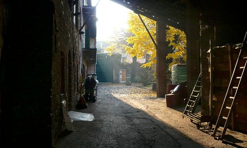 Autumn in the distillery