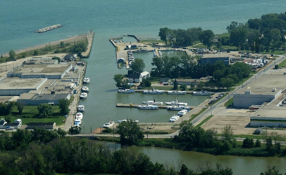 Wheatley Harbour- the world's largest freshwater fishing harbour!