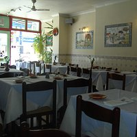 The lovely interior! Plenty room for more than 40 diners. Xx