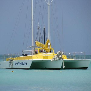 Sea Venture - Trimaran used for group and privat snorkeling tours