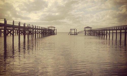 Saint Helena Island Docks