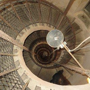Escalier en colimaçon impressionnant