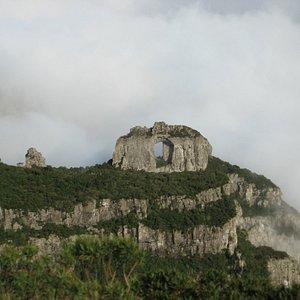 Pedra Furada - Morro da Igreja - URUBICI