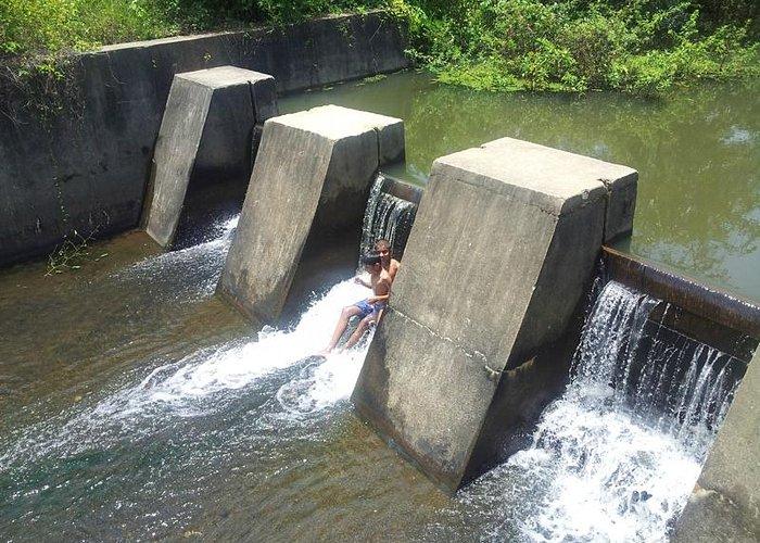 Check dam in Narasi Puzha @ Edakkad