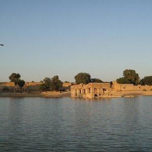 Amar Sagar, before the sunset