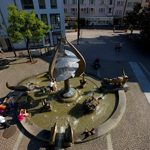 Buchhornbrunnen in Friedrichshafen am Bodensee