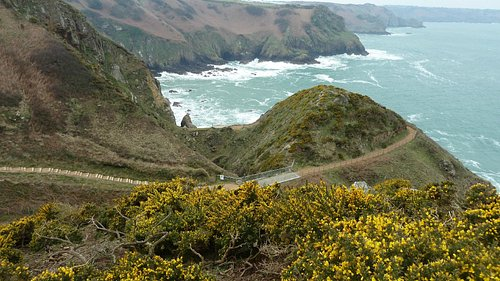 The coastal path
