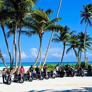 Visiting the most amazing places on a Harley
