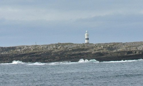 Lighthouse on Inismor, the largest of the Aran Islands