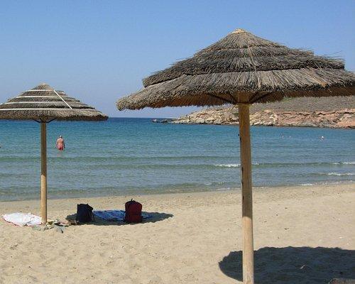 Beautiful Agathopes - the sea is very shallow