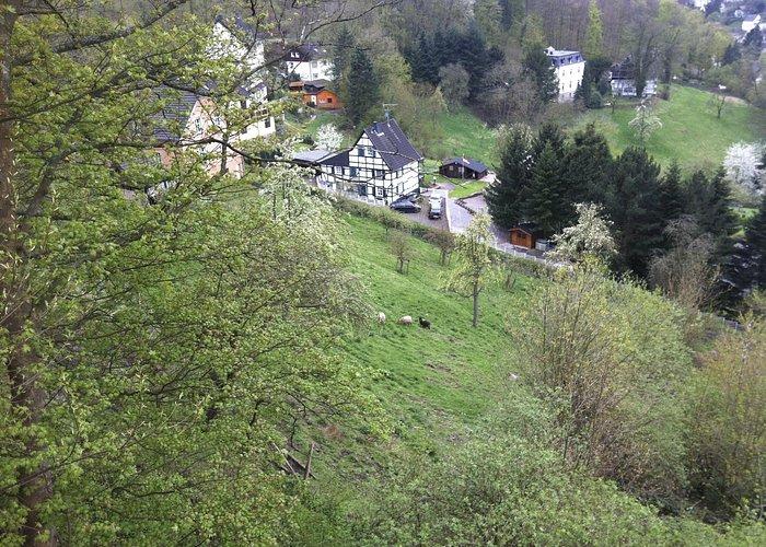bird eyes view from Schloss Hohenlimburg