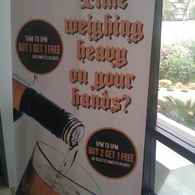 The said Banner displaying the offer