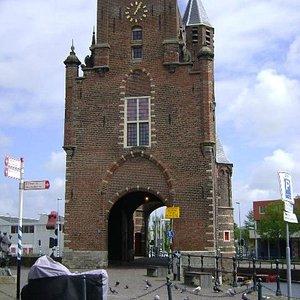 Amsterdamse Poort, Haarlem, Países Bajos.
