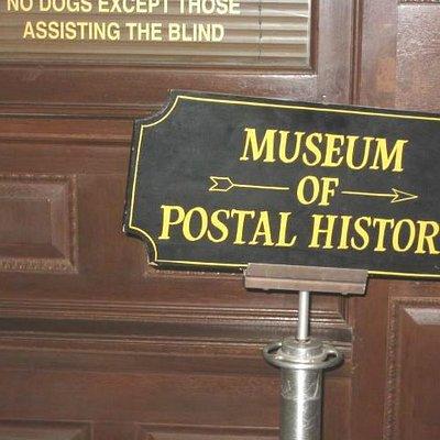 Postal Museum sign