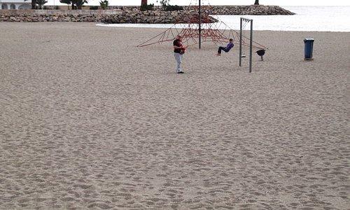 Christmas Day, Aguadulce Beach