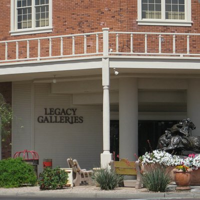 Legacy Gallery-front entrance