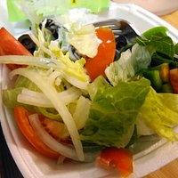 Single Serve Salad with Honey Mustard Dressing on the side