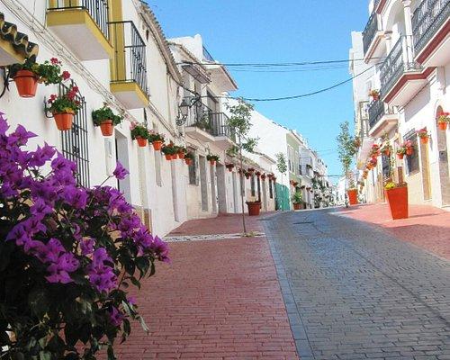 Estepona Old Town - the Calle Antero