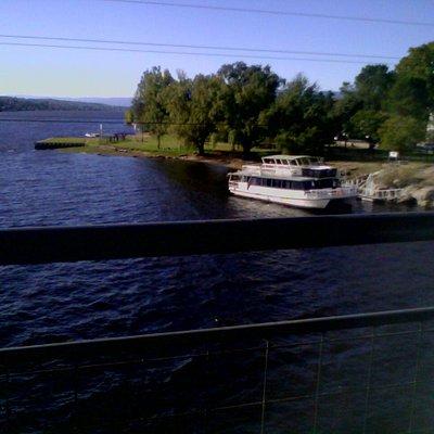 Vista desde El Puente Uruguay