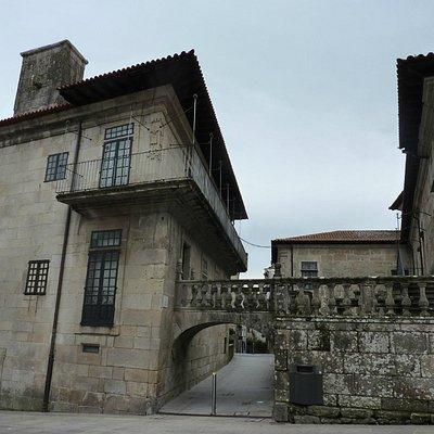 exterior of museum in Pontevedra