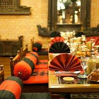 Dining at Krishnarpan